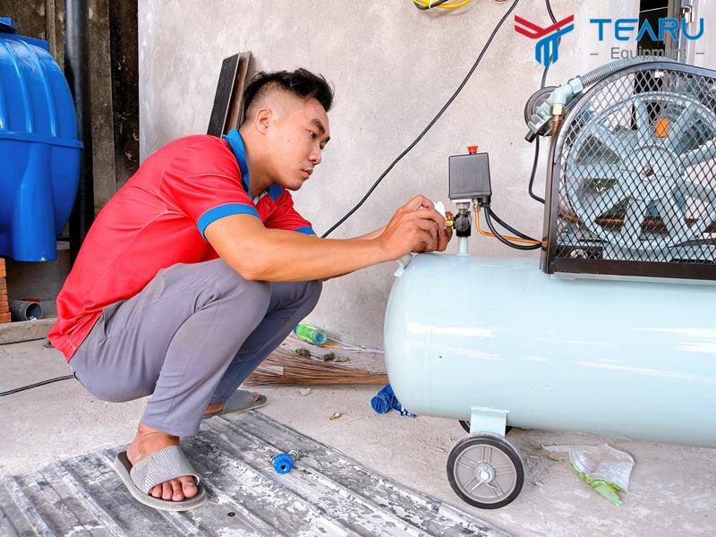 Lỗi thường gặp ở máy nén khí và cách khắc phục