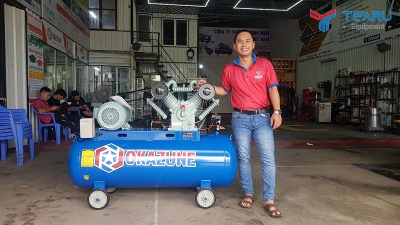 Công ty TEARU chuyên cung cấp máy nén khí tại Hà Nội giá rẻ