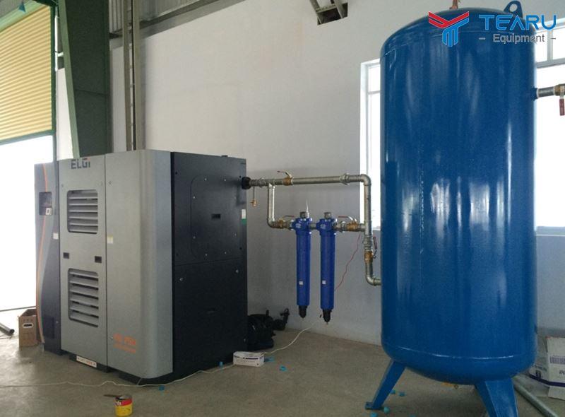 TEARU là đơn vị hàng đầu chuyên cung cấp máy nén khí chính hãng