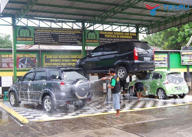 Thị trường rửa & chăm sóc xe khá sôi động