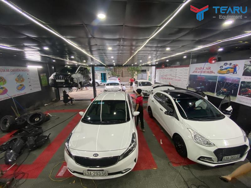 Ngành dịch vụ rửa và chăm sóc ô tô xe máy hiện khá thu hút