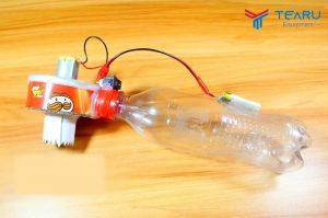Tự chế máy hút bụi cầm tay mini tại nhà