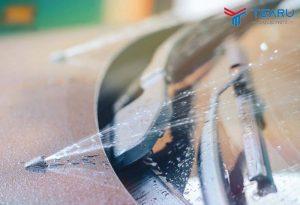 Lỗi đầu phun nước rửa kính bị tắc khá phổ biến