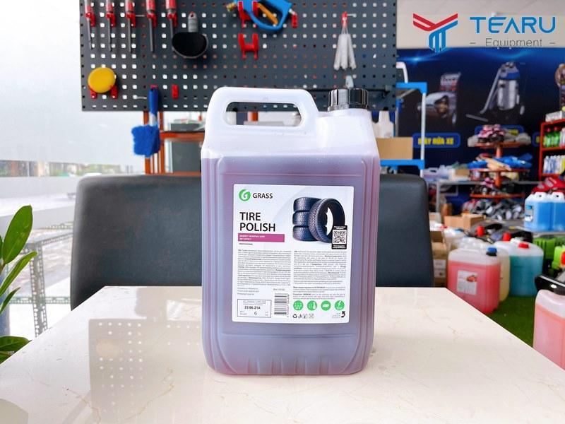 Dung dịch dưỡng bóng và làm mới lốp Tire Polish 5 lít
