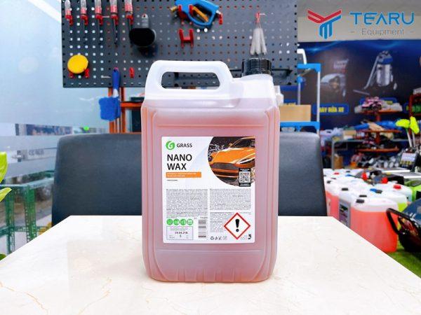 Dung dịch làm bóng và bảo vệ bề mặt sơn xe Nano Wax 5 lít