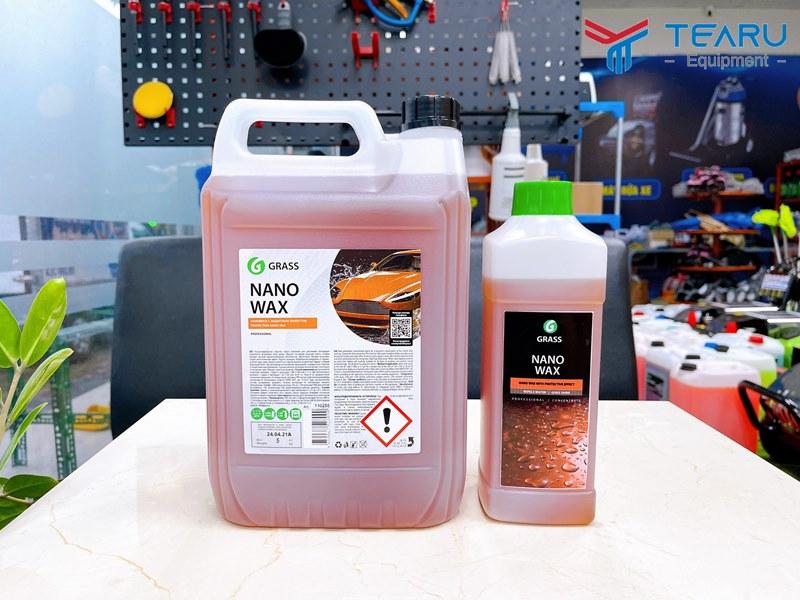 dung dịch làm bóng và bảo vệ bề mặt sơn xe Nano Wax