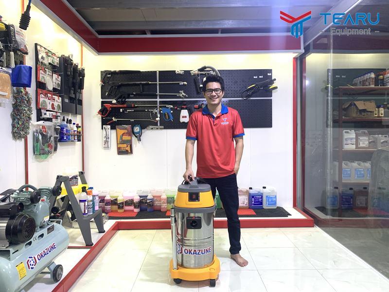 TEARU bán máy hút bụi công nghiệp tại TP HCM chính hãng