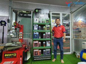 Công ty TEARU chuyên bán nước rửa xe tại Hà Nội giá rẻ