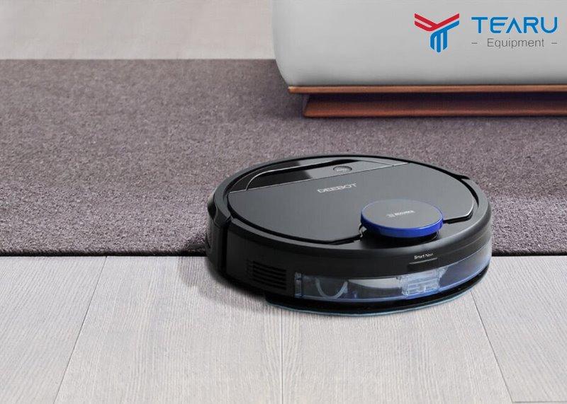 Dùng robot hút bụi lau nhà khá tiết kiệm