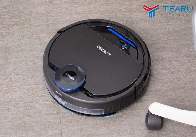 Robot lau nhà cho độ ồn khá nhỏ