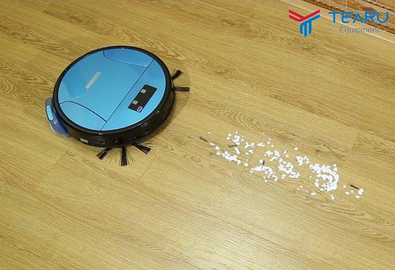 Cơ chế máy giúp vệ sinh siêu sạch